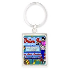 AT-THE-DRIVE-IN-temp_shower_curt Portrait Keychain