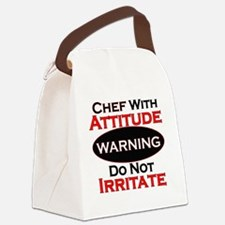 Attitude Chef Canvas Lunch Bag