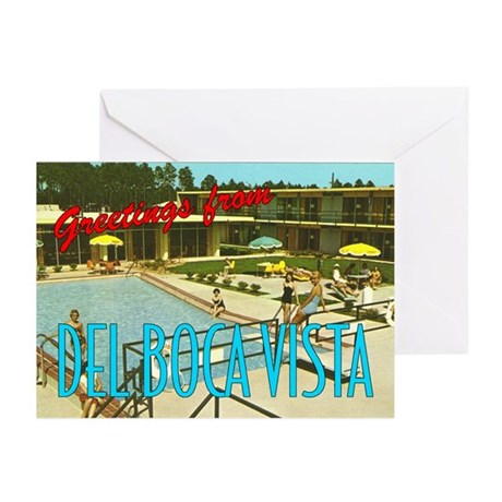 """Del Boca Vista"" Greeting Cards (Pkg. of 6)"