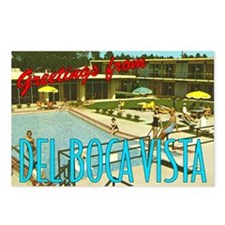 """Greetings from Del Boca Vista"" Postcards (Pkg. 8)"