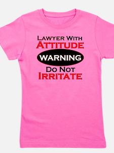 Attitude lawyer  Girl's Tee