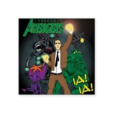 "hp-avengers Square Sticker 3"" x 3"""