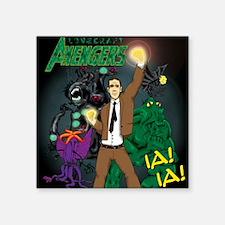 "hp-avengers Square Sticker 3"" x 3"""