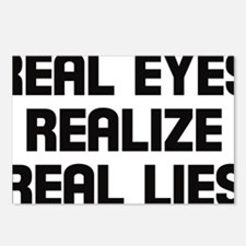 Real eyes realize real li Postcards (Package of 8)