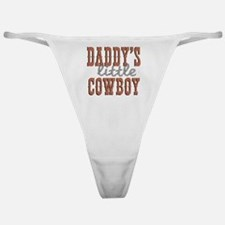 Daddys Little Cowboy Classic Thong