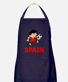 Spain Football (Soccer) Apron (dark)