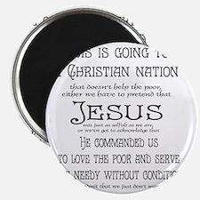 Christian Nation Magnet