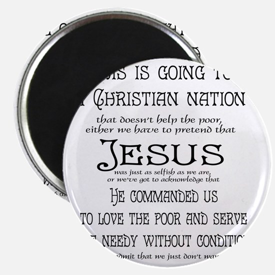 Christian Nation Magnet