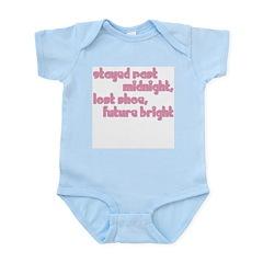 Stayed Past Midnight Infant Bodysuit