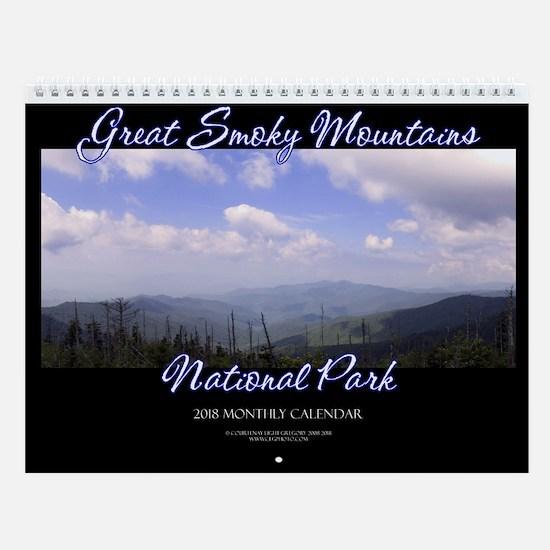 Great Smoky Mountains 2018 Wall Calendar