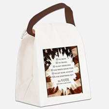 IDs for everything - Voter ID t-s Canvas Lunch Bag