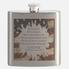 IDs for everything - Voter ID t-shirts Flask