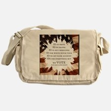 IDs for everything - Voter ID t-shir Messenger Bag