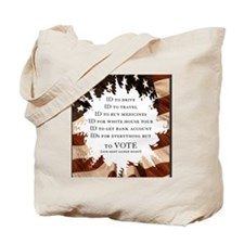 IDs for everything - Voter ID t-shirts Tote Bag