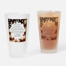 IDs for everything - Voter ID t-shi Drinking Glass