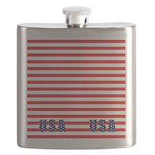 Flip Flops USA 3-10 Flask