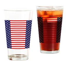 Flip Flops USA 2-09 Drinking Glass