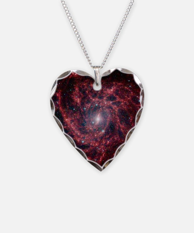 Galaxy IC 342 Necklace