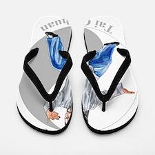 yingyangpartingColored Flip Flops