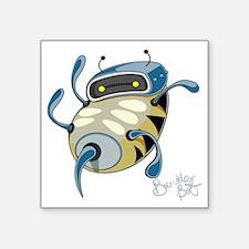 "bumblebot2 Square Sticker 3"" x 3"""