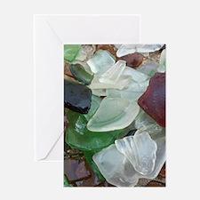 glass flip flop copy Greeting Card