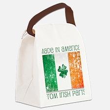 america - irish parts Canvas Lunch Bag