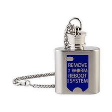 ReBoot_G4slipVert Flask Necklace