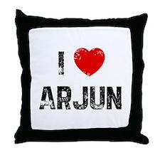 I * Arjun Throw Pillow
