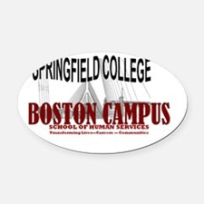 springfield logo Oval Car Magnet