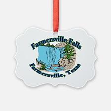 Farmersville Falls 2 Ornament