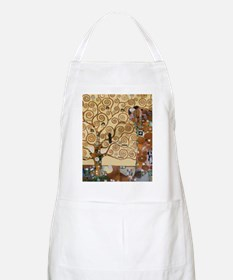 Gustav Klimt Tree Of Life Apron