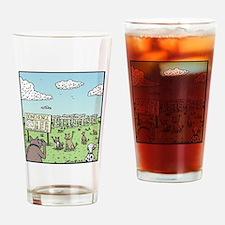Bonehenge Drinking Glass