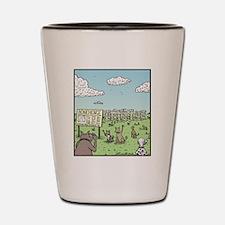 Bonehenge Shot Glass