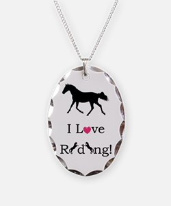 i_love_riding2 Necklace