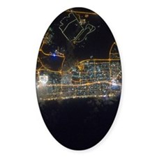 Dubai At Night From Space Decal