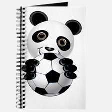 Soccer Panda Face n Ball Trans Journal