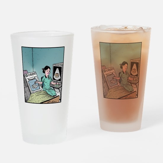 Bun in the Oven Ultrasound Drinking Glass