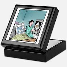 Bun in the Oven Ultrasound Keepsake Box
