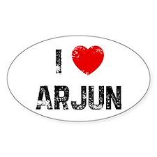 I * Arjun Oval Decal