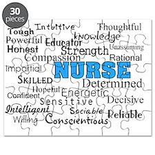 nurse describing blue Puzzle