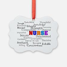 NURSE Describing words Ornament