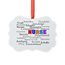 NURSE Describing words Picture Ornament