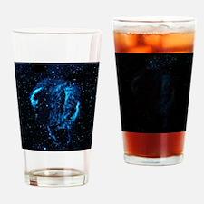 Cygnus Loop Nebula Drinking Glass