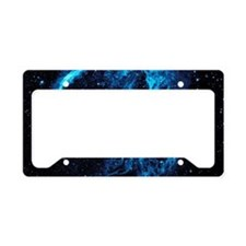 Cygnus Loop Nebula License Plate Holder