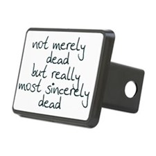 sincerely dead 1 Hitch Cover