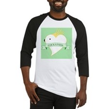 Love Heart Cockatoos Baseball Jersey