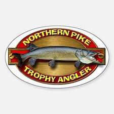 Northern Pike Sticker (Oval)