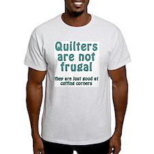 cut corner T T-Shirt