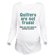cut corner T Long Sleeve Maternity T-Shirt