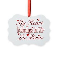 LaPerm Ornament